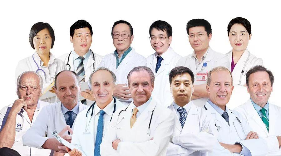 瑞士铂思琳中欧医生团队