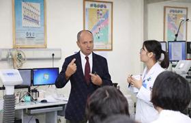 法比奥·贝洛托医学博士到访广东省人民医院及中山大学附属第一医院进行学术交流